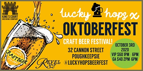 Lucky Hops x Oktoberfest! tickets