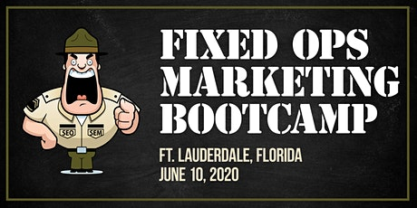 Automotive Marketing Bootcamp for Fixed Ops tickets