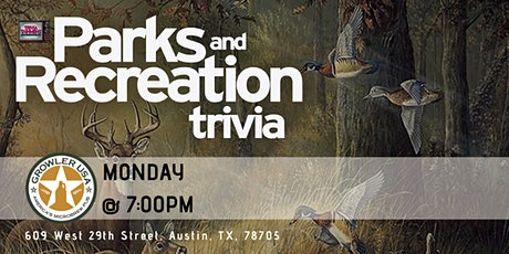 Parks & Rec Trivia at Growler USA Austin tickets