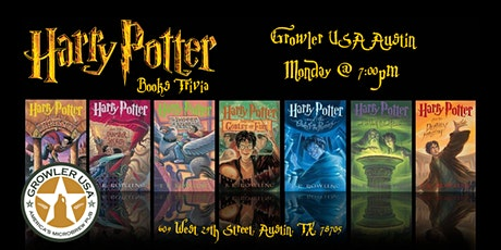 Harry Potter Books Trivia at Growler USA Austin tickets