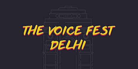 THE VOICE FEST DELHI tickets