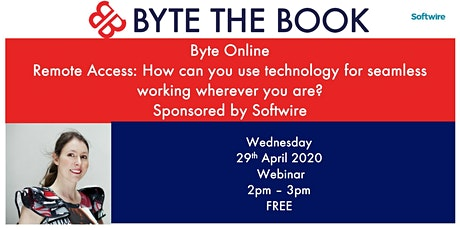 Remote Access: Seamless working wherever you are Sponsored by Softwire tickets