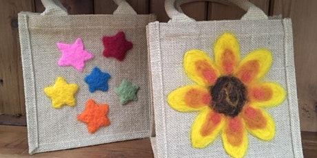 Needle Felted Bag tickets