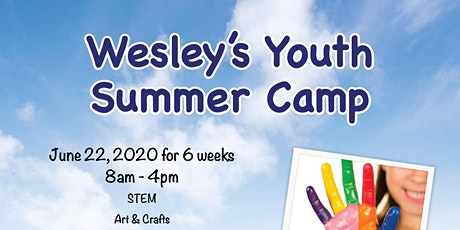 Wesley Center Youth Summer Camp 2020 - 6 weeks tickets