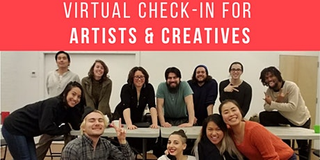 Virtual Check-In for Artists & tickets