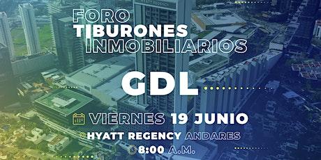 Foro Tiburones Inmobiliarios GDL | Presentado por Lamudi.com.mx boletos