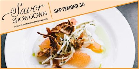Savor Showdown: September 30 tickets