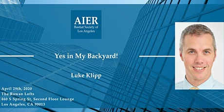 "LA: ""Yes in My Backyard!"" with Luke Klipp tickets"