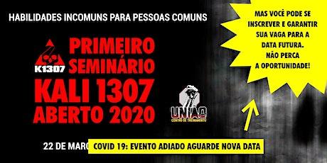 Seminário Aberto 2020 Kali 1307 - Conheça as Artes ingressos