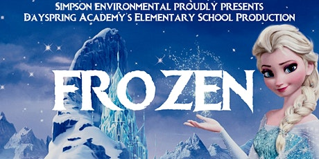 3:00PM- Dayspring Academy's Elementary School Production: Frozen Jr tickets