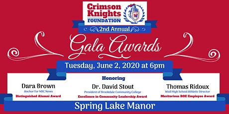 2020 Crimson Knights Foundation Awards Gala tickets