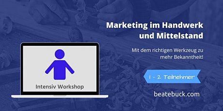 Marketing Workshop für Ihre Sichtbarkeit Tickets