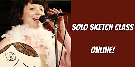 Solo Sketch Writing Session(5 Weeks)- Online tickets