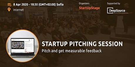 Online: Startup Pitching Session tickets