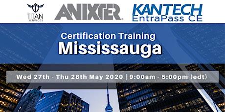 Mississauga Kantech CE Certification - Anixter tickets