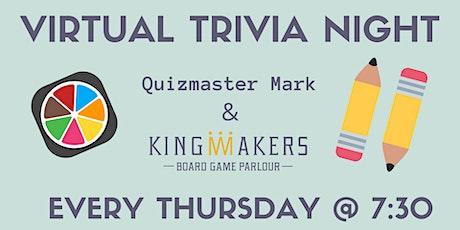 Virtual Trivia Night with Mark! tickets