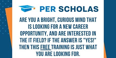Free Tech Training @ Per Scholas NCR | Information Session tickets