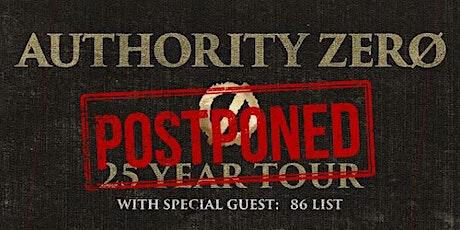Authority Zero - POSTPONED tickets