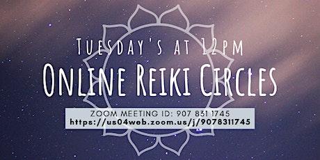 Online Reiki Circles tickets
