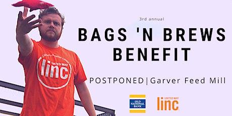 POSTPONED: Bags 'N Brews Benefit tickets