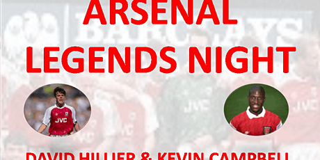 ARSENAL LEGENDS EVENT tickets
