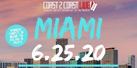 Coast 2 Coast LIVE Showcase Miami - Artists Win $50K In Prizes! tickets