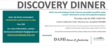 Discovery Dinner - What's new and changing in hiring? tickets