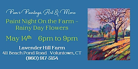 Paint Night on the Farm - March Tree Spring Colors tickets