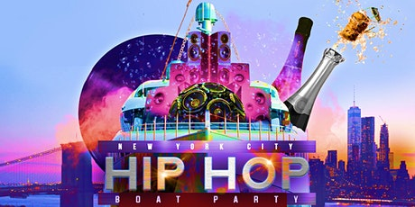 The #1 HIP HOP & R&B Boat Party NYC Yacht Cruise: Saturday Night  tickets