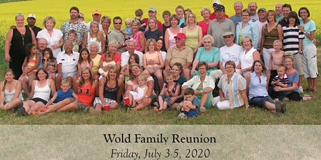 WOLD FAMILY REUNION 2020!!! tickets