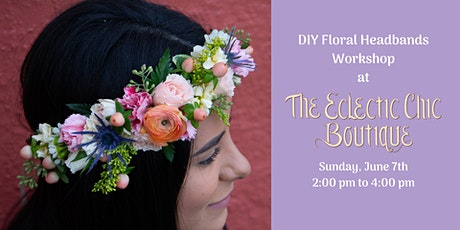 DIY Floral Headbands Workshop tickets