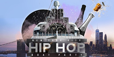 The #1 HIP HOP & R&B Boat Party NYC Yacht Cruise: Saturday Night