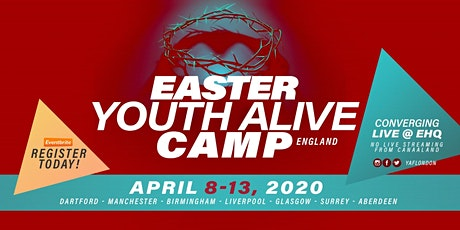Winners' Chapel, Easter Youth Alive Camp (EYAC) England tickets