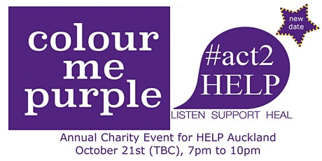 'Colour Me Purple' Annual Charity Event for Help Auckland tickets