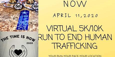 5k/10k Run To End Human Trafficking   tickets