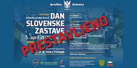 DAN SLOVENSKE ZASTAVE tickets