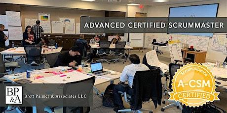 Advanced Certified ScrumMaster (A-CSM) - Orange County (weekend) tickets