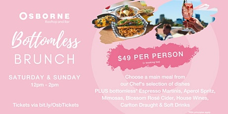 Bottomless Bunch on the Osborne Rooftop tickets