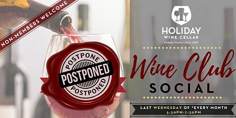 #WineSocial | Wine Club Wednesday | NON-Members Welcome tickets