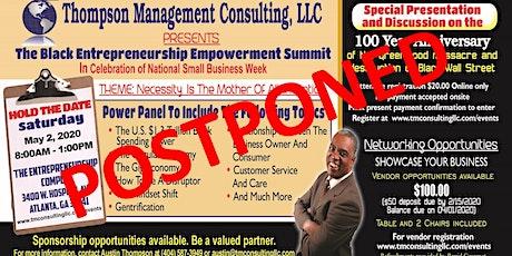 The Black Entrepreneurship Empowerment Summit (B.E.E.S 2020) - POSTPONED tickets