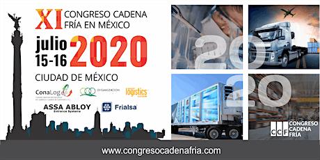 XI Congreso Cadena Fría en México entradas