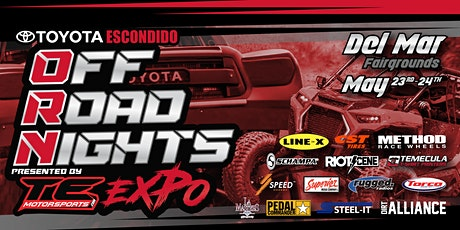OFF ROAD NIGHTS  Expo tickets