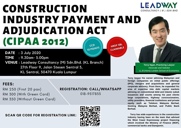 (KL) Payment Collection Training: CIPAA ACT 2012 image