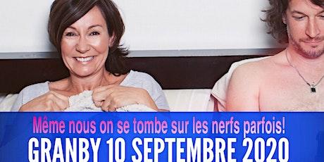 Granby 10 septembre 2020 LE COUPLE Josée Boudreault billets