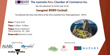 APCCI 2020 Inaugural Cocktail tickets