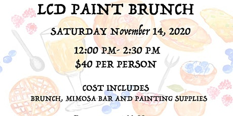 LCD Paint Brunch tickets