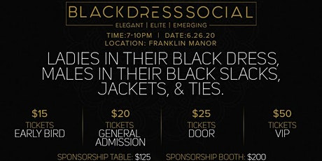 Black Dress Social 2020 Tampa tickets