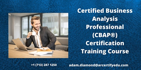 CBAP Certification Training Course in Alta,UT,USA tickets