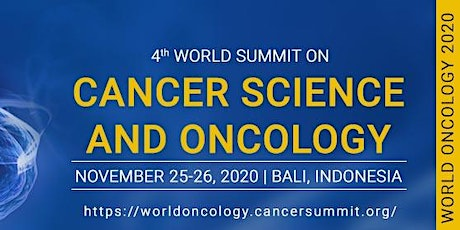 4th World Summit on Cancer Science and Oncology tickets