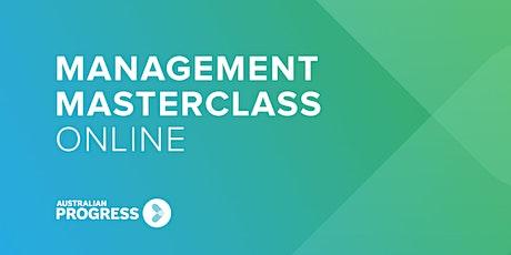 Management Masterclass Online   April tickets